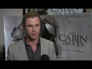 Chris Hemsworth at 'The Cabin in the Woods' Premiere