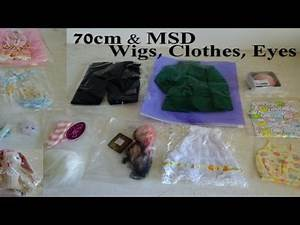 BJD Taobao Haul 70, MSD, Fairyland knock off SD Chloe dress