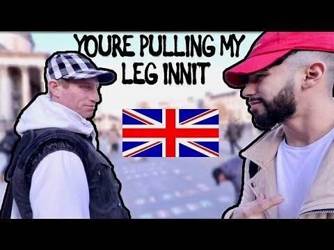 BRITISH ACCENT CHALLENGE IN PUBLIC!!!