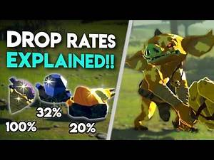 The STATS behind Loot Drops in Breath of the Wild EXPLAINED!!