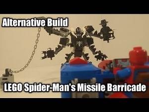 LEGO Spider-Man's Missile Barricade 76150 Alternative Build
