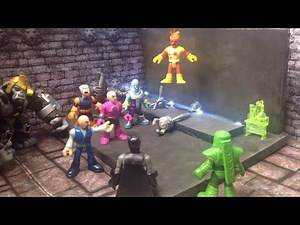 New Imaginext DC Superfriends and Young Justice StopMotion episode 1 of season 2 2017