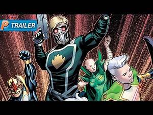 Official Trailer: GUARDIANS OF THE GALAXY #1 from Marvel Comics