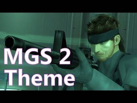 Game Clip #2 - Metal Gear Solid 2 Theme (Video Game Music)