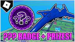 """How to get the """"???"""" BADGE UNLOCK CYBER PLANE AND ANIMATED STARS SKIN in MAD CITY! [ROBLOX]"""