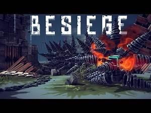 Besiege Best Creations - HUGE Minigun, Lightsaber, Mechanical Knight & More!