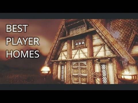 SKYRIM - 10 BEST PLAYER HOME MODS