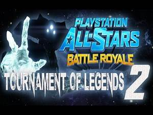 Playstation All Stars Battle Royale: Tournament of Legends #2 (1v1 Tournament)