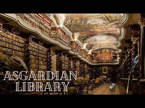 Asgardian Library Ambience with Loki and Thor 📚