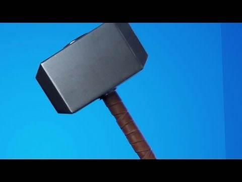 Who else can use Mjolnir (Thor's Hammer) ? - Fortnite Season 4