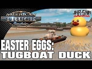 American Truck Simulator Easter Egg Hunt #2 Tugboat Duck