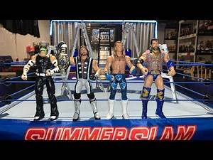 WWE I.C Title Showcase Ladder Match - Aj Styles vs Jeff Hardy vs Shawn Michaels vs Razor Ramon