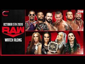 WWE RAW October 5th 2020 Live Stream: Conman167 Full Show Watch Along