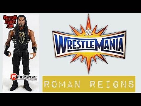 "WWE FIGURE INSIDER: Roman Reigns - WWE ""WrestleMania 33"" Series Toy Wrestling Action Figure"