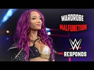 Sasha Banks' Wardrobe Malfunction on RAW Causes WWE To RESPOND In A SURPRISING WAY - WWE RAW