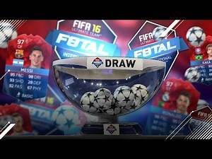 PRO F8TAL iMOTM KNOCKOUT DRAW!   FIFA 16 ULTIMATE TEAM