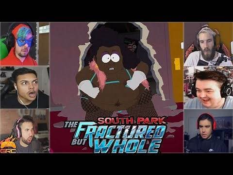 Gamers Reactions to Spontaneous Bootay Intro | South Park™: The Fractured But Whole