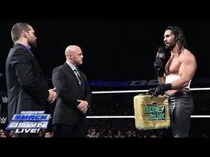 Dolph Ziggler challenges Seth Rollins to a main event showdown: SuperSmackDown, December 16, 2014