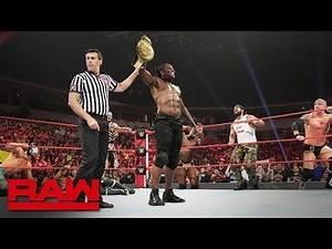 24/7 Championship Mosh Pit Mixed Tag Team Match: Raw, July 29, 2019