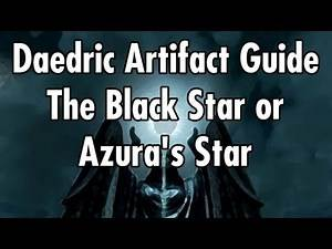 The Black Star or Azure Star - Daedric Artifacts Guide Skyrim