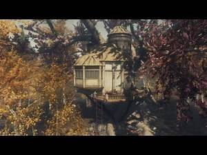 AWESOME TREEHOUSE FOR SKYRIM! INCLUDES QUEST!
