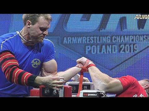 World Arm Wrestling Championship 2019 LEFT HAND Finals