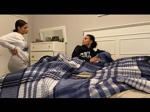 I HAD ANOTHER GIRL IN OUR BED PRANK