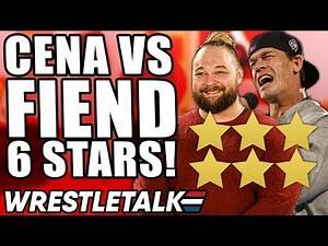 WWE WrestleMania 36 Part Two Review! John Cena Vs The Fiend SIX STARS!   WrestleTalk