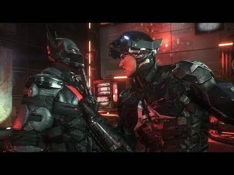 Batman: Arkham Knight (PC)(Batman Beyond Walkthrough)[Part 20] - Arkham Knight HQ [1080p60fps]