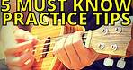FIVE BEST PRACTICE TIPS FOR 2021! || Ukulele Lesson for beginners & ALL music makers