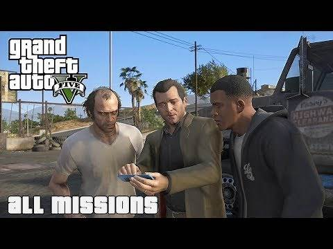 GTA V All Missions [NVR]
