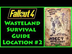 Fallout 4 - Wasteland Survival Guide - Crater House - 4K Ultra HD