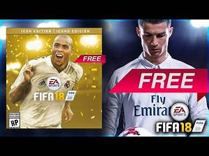 HOW TO GET FIFA 18 ICON EDITION FOR FREE 😱🔥