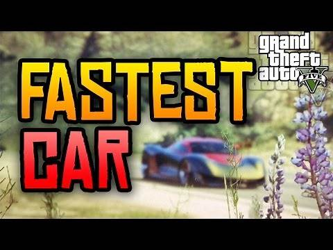 GTA 5 Online - NEW Fastest Car in the Game! (GTA 5 PS4 & Xbox One Secrets)