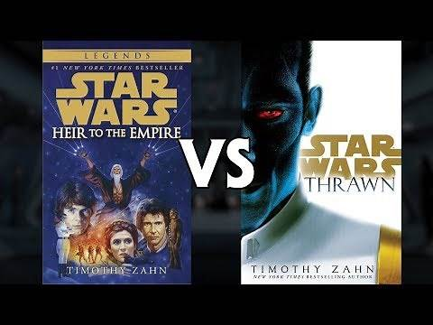 Which Thrawn Trilogy is Better - Star Wars Canon vs Legends