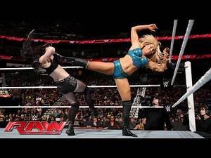 Paige vs. Charlotte: Raw, June 13, 2016