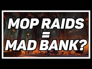 Farming Gold From MoP 25HC Raids in Legion - How Much Will It Make?