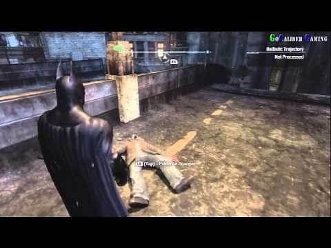 BATMAN: Arkham City - Walkthrough Part 46 - Side Mission: Deadshot Victim No 2 Approx Location