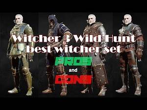 Which Witcher 3 armor set is the best? PROS AND CONS!