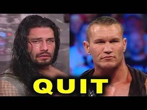 10 WWE Wrestlers Rumored to QUIT WWE Soon - Roman Reigns & Randy Orton Leaving?