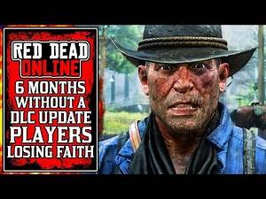 Rockstar's 6 Months of SILENCE.. The New Red Dead Online Update Today (RDR2)