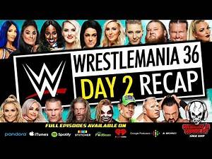 WWE WrestleMania 36 Night Two Full Show Review & Results | FIREFLY FUNHOUSE INSANITY!