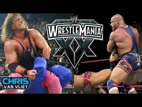 Why Kurt Angle vs Bret Hart Never Happened at WWE Wrestlemania 20 - Chris Van Vliet clips