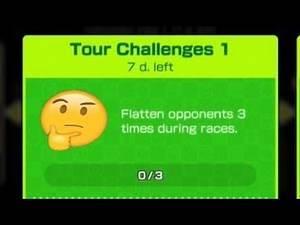FLATTEN OPPONENTS CHALLENGE GUIDE | Mario Kart Tour