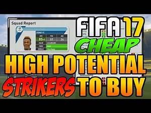 FIFA 17 Career Mode Best Cheap Young Strikers To Buy: The English Zlatan / Better than Rashford!