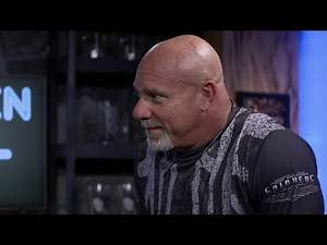 """Goldberg answers """"Stone Cold's"""" rapid-fire questions in the Broken Skull Bar"""