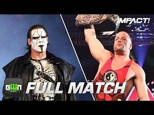 Rob Van Dam vs Sting: FULL MATCH (Slammiversary 2010) | IMPACT Wrestling Full Matches