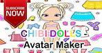 Chibi Doll - Avatar Creator Game play