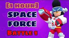"[1 hour] Brawl Stars OST ""Space Force"" Battle 1"