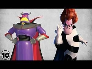Top 10 Pixar Super Villains
